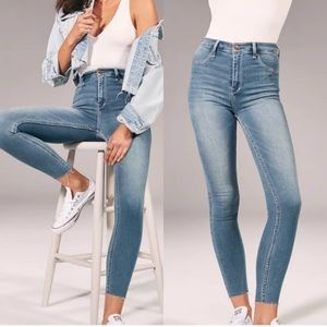 Abercrombie & Fitch high waisted skinny jeans 00R